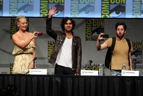 "Comic con「""The Big Bang Theory"" Panel - Comic-Con International 2012」:写真・画像(1)[壁紙.com]"
