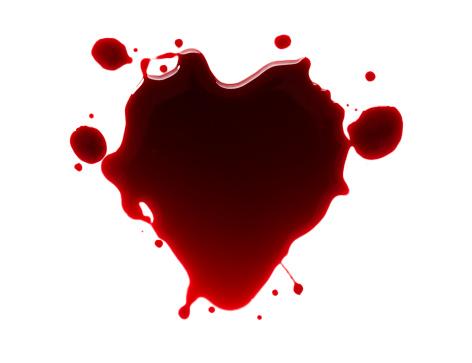 ハート「Heart Blood」:スマホ壁紙(10)