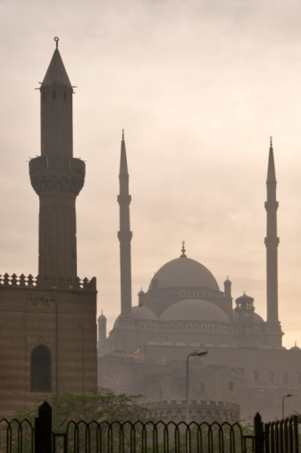 Alabaster「Mosque of Muhammad Ali Pasha or Alabaster Mosque from Sultan Hassan Mosque.」:スマホ壁紙(14)
