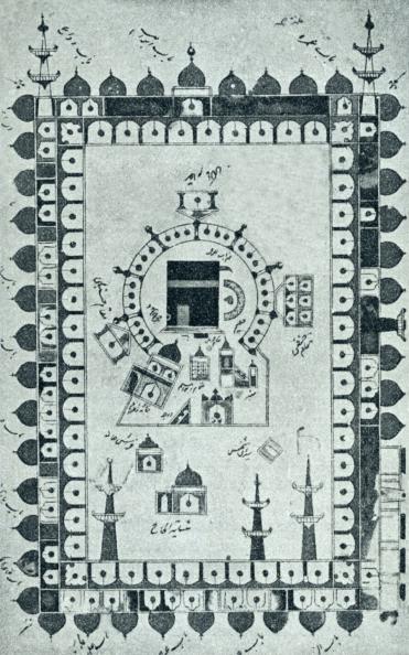 絵「Mosque of Mecca with the Kaaba/ Ka'ba」:写真・画像(13)[壁紙.com]