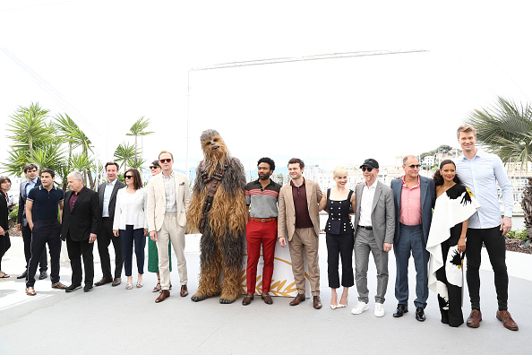 """Tristan Fewings「""""Solo:  A Star Wars Story"""" Photocall - The 71st Annual Cannes Film Festival」:写真・画像(5)[壁紙.com]"""