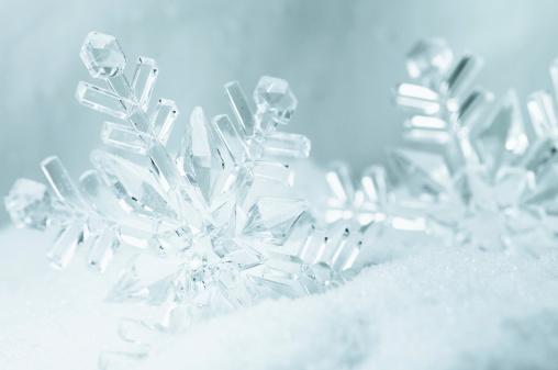 雪の結晶「雪」:スマホ壁紙(15)