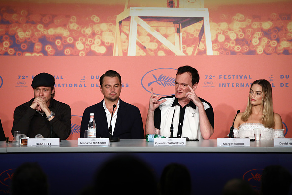 "Press Room「""Once Upon A Time In Hollywood"" Press Conference - The 72nd Annual Cannes Film Festival」:写真・画像(11)[壁紙.com]"