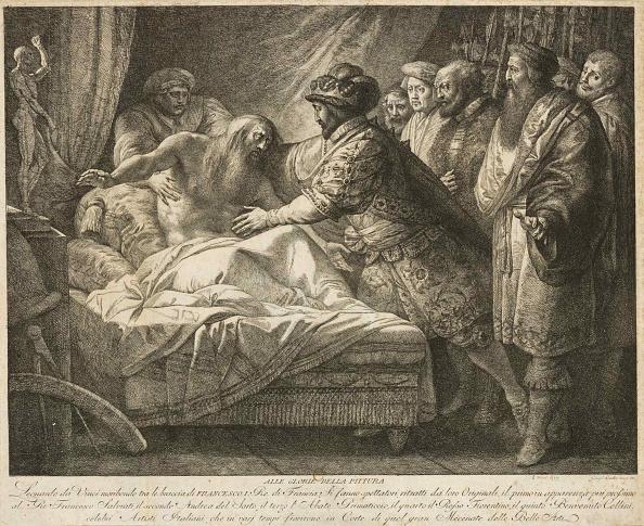 Fine Art Painting「Allegory Of Painting (The Death Of Leonardo Da Vinci)」:写真・画像(18)[壁紙.com]
