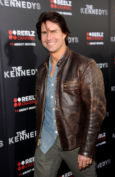 """Leather Jacket「Premiere Of ReelzChannel's """"The Kennedys"""" - Arrivals」:写真・画像(7)[壁紙.com]"""
