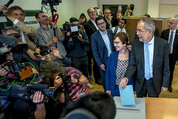 Austria「Austria Holds Runoff In Presidential Election」:写真・画像(16)[壁紙.com]