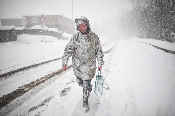 Snow「Storm Emma Meets The Beast From The East Bringing Further Snow Chaos To The UK」:写真・画像(3)[壁紙.com]