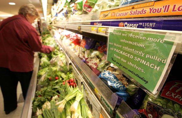 Salad「FDA Issues Warning After E. coli Outbreak Traced To Spinach」:写真・画像(8)[壁紙.com]