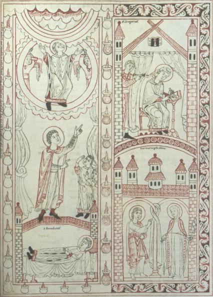 Manuscript「Medieval  10th /」:写真・画像(4)[壁紙.com]
