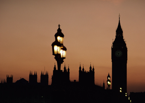 Turning On Or Off「House of Parliament and Big Ben」:スマホ壁紙(9)