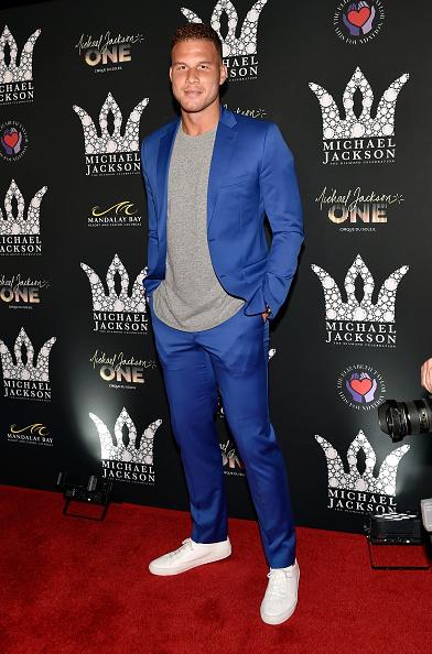 Blake Griffin「Michael Jackson Diamond Birthday Celebration」:写真・画像(1)[壁紙.com]