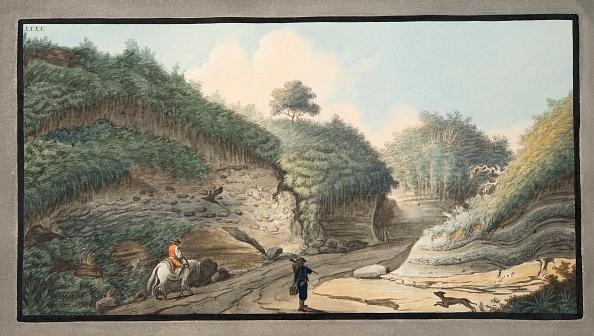 写真「View Of A Hollow Road Leading From The Grotto Of Pausilipo To Pianura」:写真・画像(5)[壁紙.com]