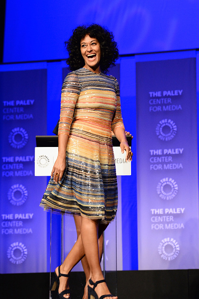 "Chunky Heels「The Paley Center For Media's 33rd Annual PaleyFest Los Angeles - ""Black-ish"" - Inside」:写真・画像(9)[壁紙.com]"