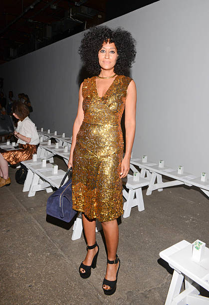 Tracy Reese - Front Row - Mercedes-Benz Fashion Week Spring 2015:ニュース(壁紙.com)