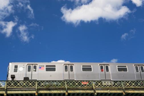 Rail Transportation「Above ground subway cars」:スマホ壁紙(9)