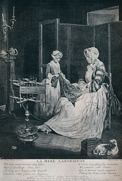 18th Century Style「La Mere Laborieuse, 1740, (1916).」:写真・画像(14)[壁紙.com]