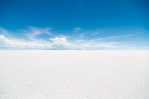 塩湖「ウユニ塩湖」:スマホ壁紙(1)