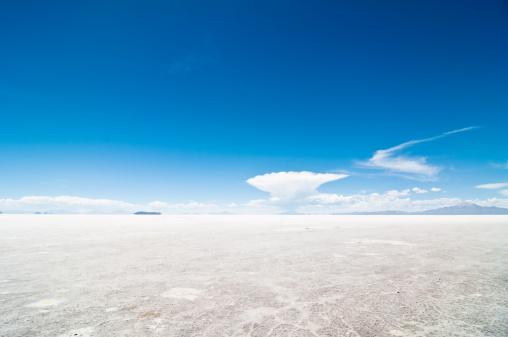 塩湖「ウユニ塩湖」:スマホ壁紙(9)