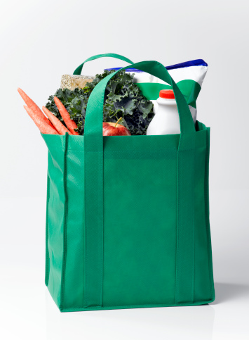 Recycling「Groceries and Fresh Produce in Reusable Bag」:スマホ壁紙(8)