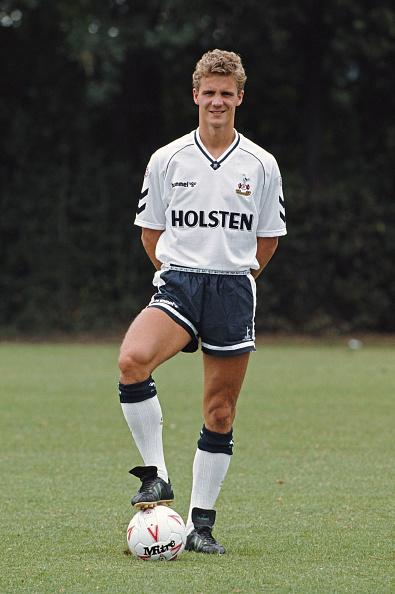 Mitre「Gudni Bergsson Tottenham Hotspur 1990」:写真・画像(2)[壁紙.com]
