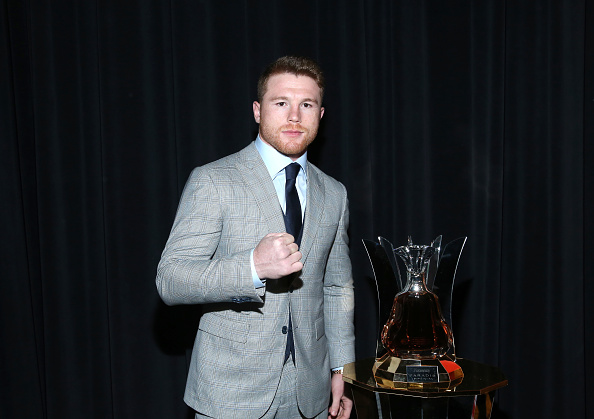 Saul Alvarez「Saul Canelo Alvarez vs. Gennady Gennadyevich Golovkin New York City Press Tour Presented by Hennessy」:写真・画像(10)[壁紙.com]