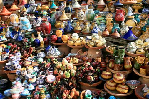 Gift Shop「Gift Shop in Street Market -Marrakesh , Morocco」:スマホ壁紙(9)
