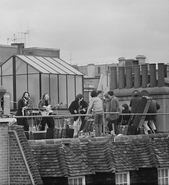 Rooftop「The Beatles' rooftop concert」:写真・画像(1)[壁紙.com]