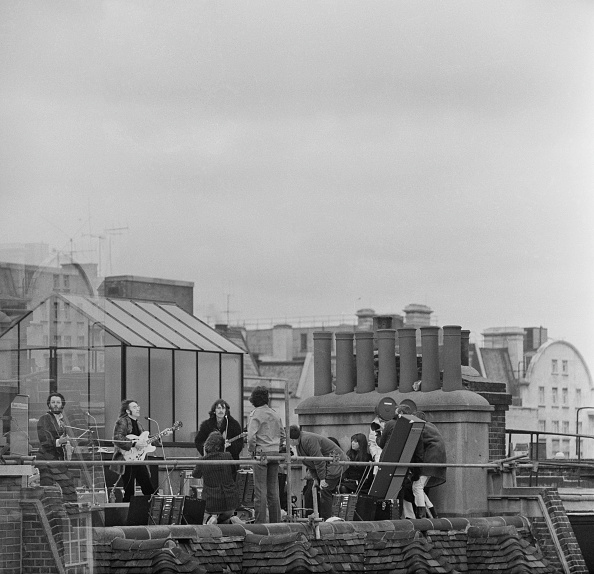 Rooftop「The Beatles' rooftop concert」:写真・画像(3)[壁紙.com]