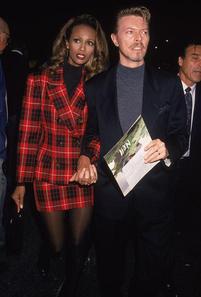 デヴィッド・ボウイ「David Bowie And Wife Iman At Premiere 」:写真・画像(18)[壁紙.com]