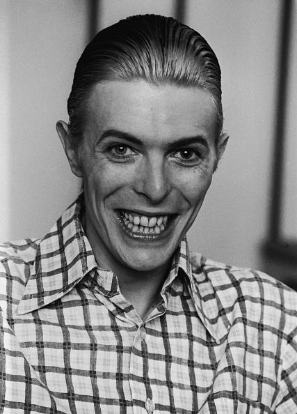 1980-1989「David Bowie Grins In Plaid Shirt 」:写真・画像(7)[壁紙.com]