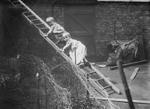 Mesh - Textile「Children On Ladder In Backyard」:写真・画像(14)[壁紙.com]