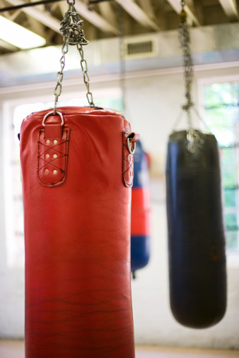 Boxing - Sport「Punching bags」:スマホ壁紙(13)