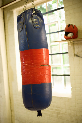 Boxing - Sport「Punching bag near gym window」:スマホ壁紙(16)