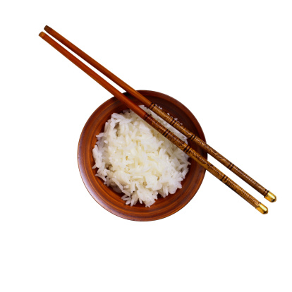Long Grain Rice「Bowl of Steamed Rice With Chopsticks」:スマホ壁紙(9)