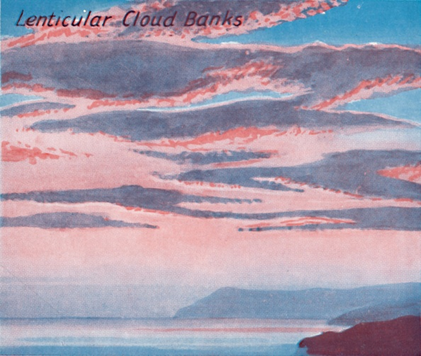 View Into Land「Lenticular Cloud Banks - A Dozen Of The Principal Cloud Forms In The Sky」:写真・画像(8)[壁紙.com]