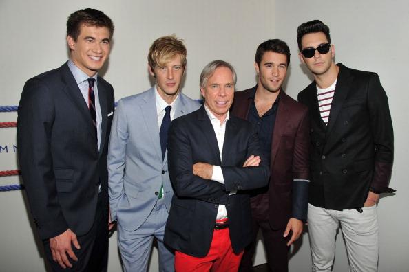 Nathan Adrian「Tommy Hilfiger Men's - Backstage - Spring 2013 Mercedes-Benz Fashion Week」:写真・画像(16)[壁紙.com]