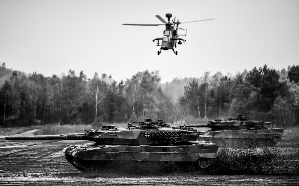 Russian Military「Germany And Holland Hold Military Exercises」:写真・画像(4)[壁紙.com]