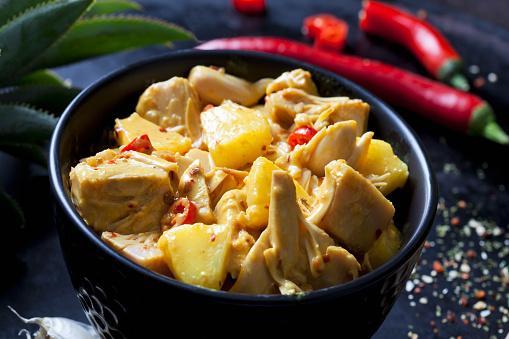Ginger - Spice「Bowl of vegan Jackfruit goulash」:スマホ壁紙(1)