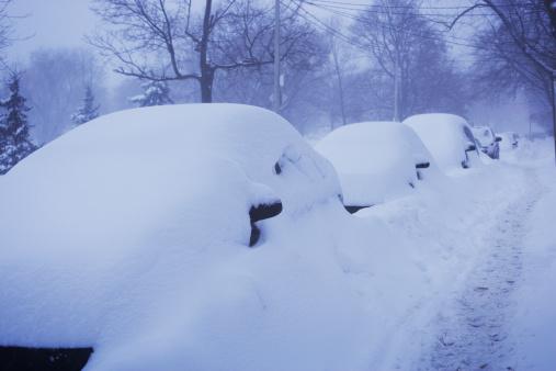 Snowdrift「Cars covered in snow」:スマホ壁紙(7)