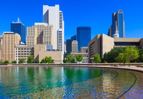 Town Square「Downtown Dallas cityscape」:スマホ壁紙(14)