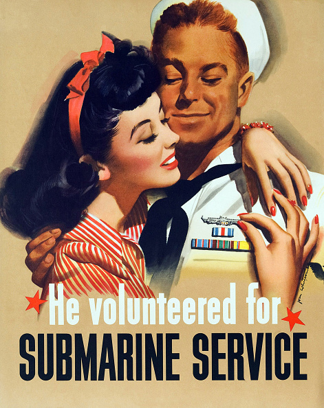 Girly「'He Volunteered For Submarine Service'」:写真・画像(10)[壁紙.com]