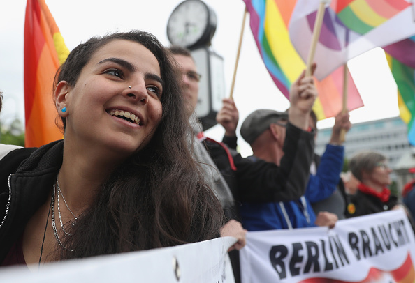 Middle East「Berlin Marks International Day Against Homophobia」:写真・画像(16)[壁紙.com]