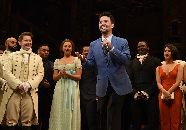 俳優「'Hamilton' Opening Night Curtain Call」:写真・画像(9)[壁紙.com]