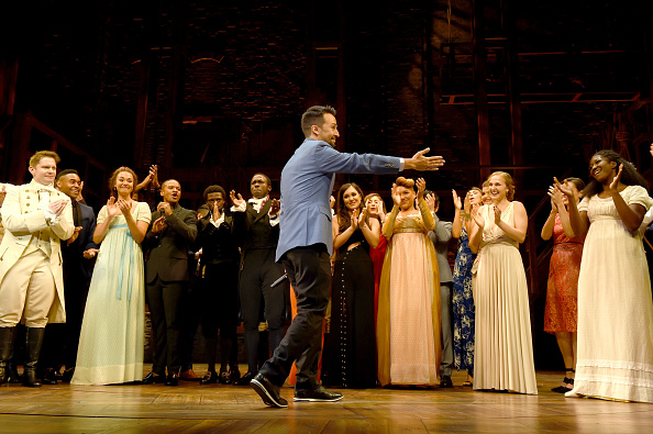 俳優「'Hamilton' Opening Night Curtain Call」:写真・画像(14)[壁紙.com]