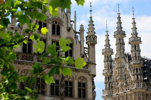 Belgium「Towers of Town Hall」:スマホ壁紙(1)