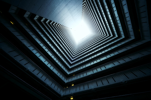 High Up「Symmetrical Residential buildings in Hong Kong, China」:スマホ壁紙(11)