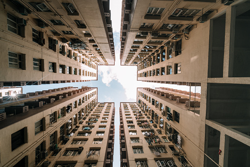 Housing Project「Symmetrical Residential buildings in Hong Kong, China」:スマホ壁紙(7)