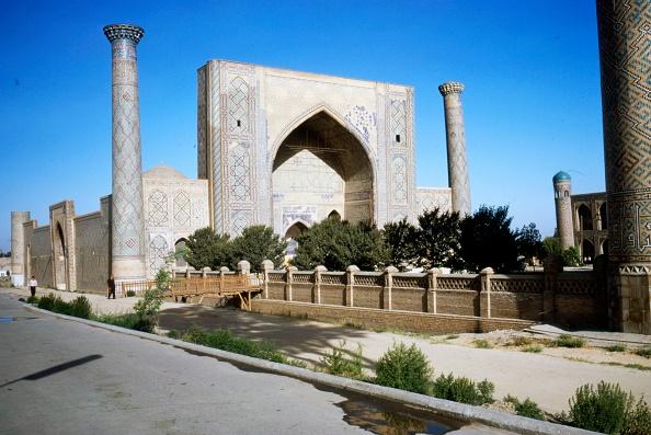 Samarkand「Ulug-Beg Madrasa Built 1417-20」:写真・画像(17)[壁紙.com]
