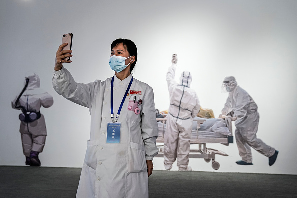 Exhibition「Wuhan Holds Special Exhibition On Fighting Against Coronavirus」:写真・画像(19)[壁紙.com]