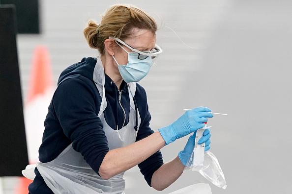 UK「UK On Lockdown Due To Coronavirus Pandemic」:写真・画像(14)[壁紙.com]